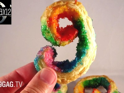 Rainbow And Nutella Palmiers Cookies With yoyomax12 | 9GAG TV