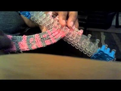 Rainbow loom name tag.