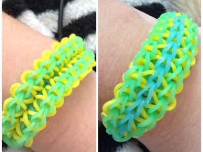 Rainbow Loom: Zig Zag Burst Bracelet MY OWN DESIGN EASY