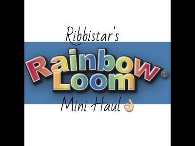 Ribbistar's Rainbow Loom Mini Haul!