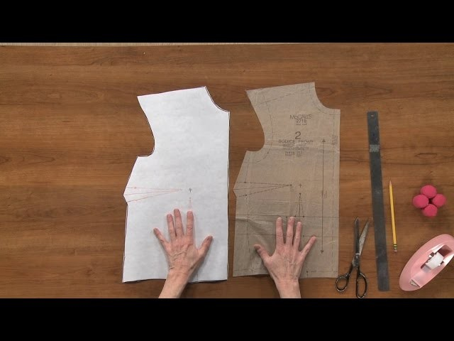 Small Bust Adjustment  |  National Sewing Circle