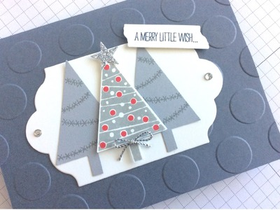 Stampin' Up! Festival of Trees Christmas Card Swap