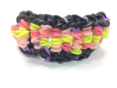 Bandaloom: How to make a Candy Twist bracelet