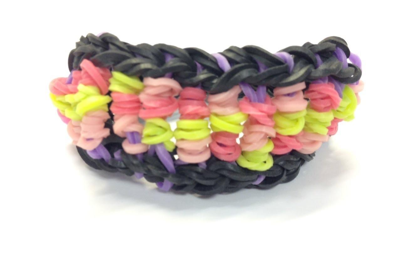 Bandaloom: How to make a Candy Twist bracelet