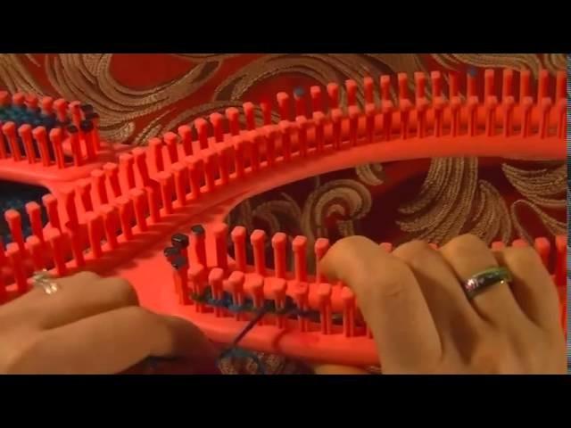 Blanket Scarf Tutorial using Knitting Loom