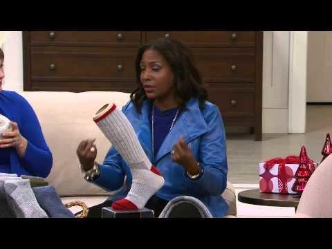 Catawba Set of 3 Merino Wool Blend Boot Socks with Pat James-Dementri