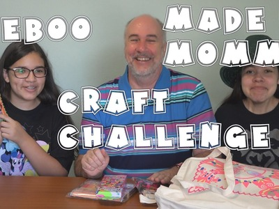 Craft Challenge from eeBoo and Made By Mommy | RainyDayDreamers in 4k CC