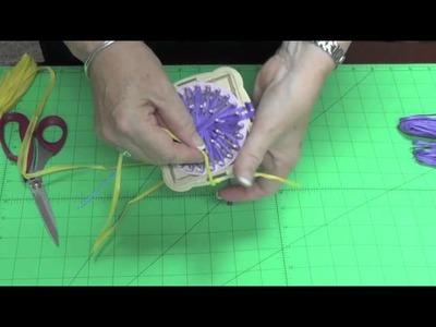 Creating Layered Flowers on Clovers Hana Ami Loom (Part 3 of 4)