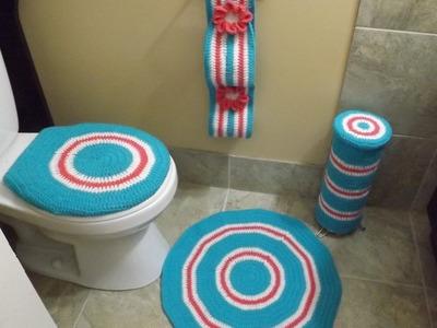 Crochet Bathroom set Part  2 of 4
