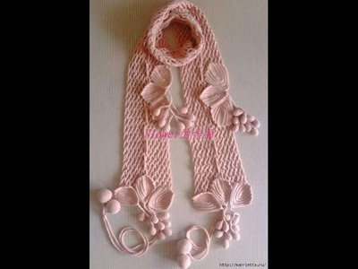 Crochet Scarf| free |crochet patterns|378