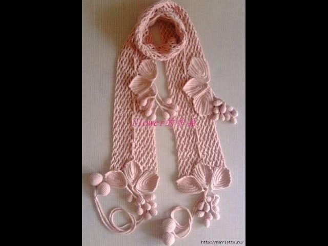Crochet Scarf  free  crochet patterns 378