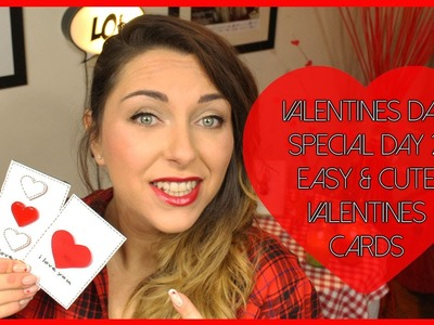 D.I.Y. Valentine's day cards  ♡ Biglietti di San Valentino fai da te | Valentine's Day special #2