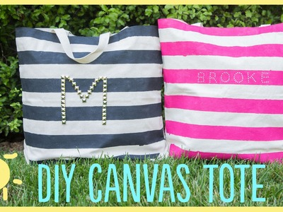 DIY | Canvas Tote