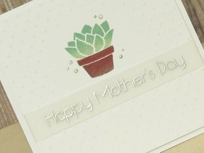 DIY Diffuser | Mother's Day card ft. Lawn Fawn