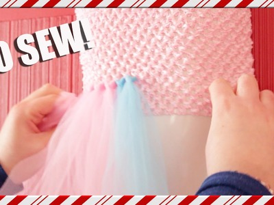 DIY No Sew tutu! |#vlogmas
