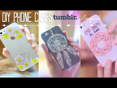 DIY Tumblr Inspired Phone Cases | Easy, Quick, Inexpensive and Cute
