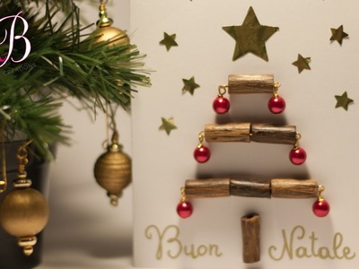 DIY Tutorial Christmas Tree card