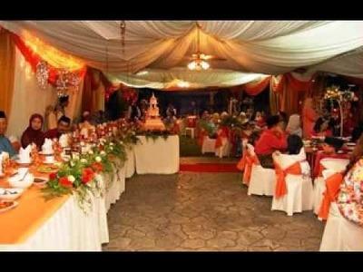 DIY wedding tent decorating ideas