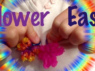 Fleur Rainbow Loom Comment faire Tutorial facile français Easy flower