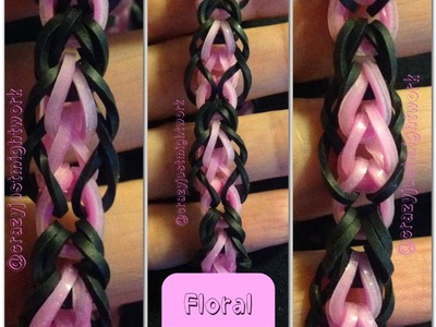 Floral Diamond Bracelet Tutorial