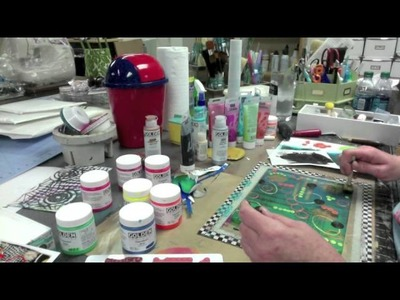 Gelli Tape Goes All The Way -- Part 2 - Patti Tolley Parrish - Inky Obsessions