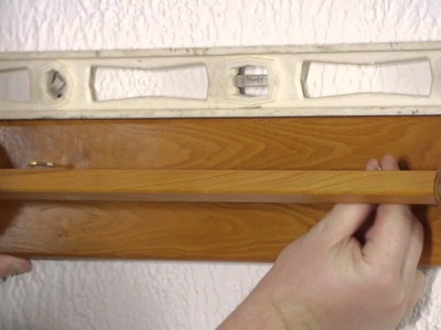 How to Install a Towel Bar on a Plaster Wall : Plaster Walls
