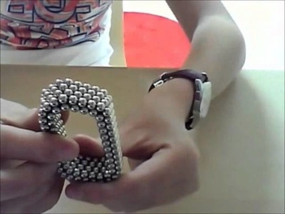 How to make a flexible hexagon.triangle- neocube