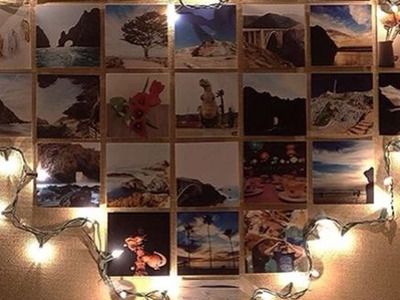 How To Make A Heart Photo Wall With Lights - DIY Home Tutorial - Guidecentral