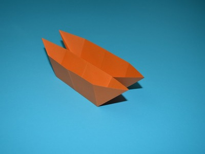 How to Make a Paper Boat.Ship.Canoe, origami