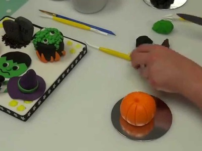 How to make a Pumpkin from Icing