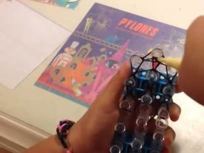How to make a simple rainbow loom saddle
