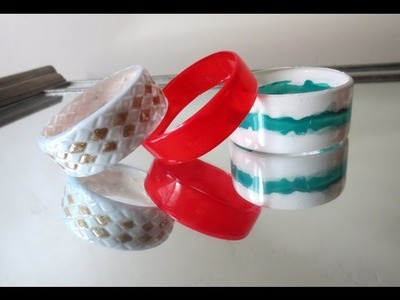 How To Make Bangles With Plastic Bottles