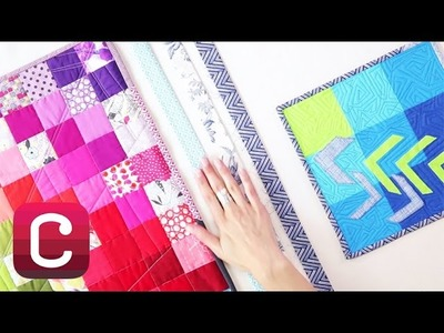 How to Make Binding Tape with Ashley Nickels | Creativebug