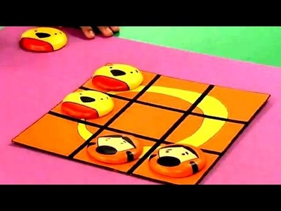 How To Make The Tic Tac Toe Board Game - Art Attack - Disney India Official