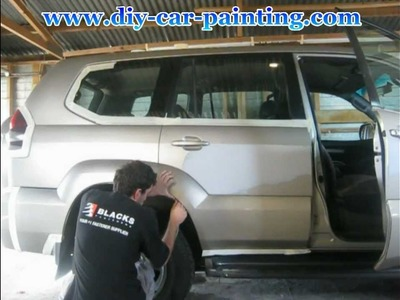 How to paint a car yourself