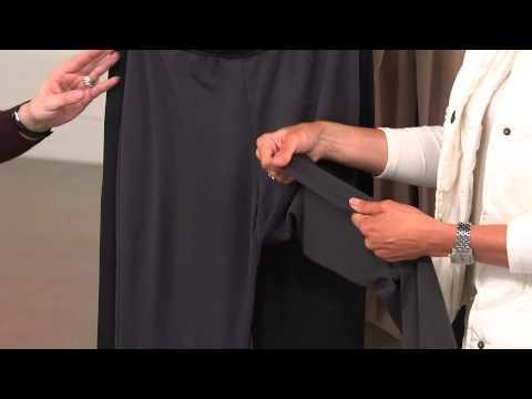 Legacy Legwear Flip Side Fleecy Boot Cut Knit Pant with Sandra Bennett
