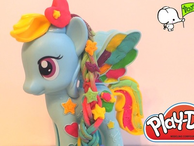 Let's Style My Little Pony Rainbow Dash Style Salon by Play-Doh