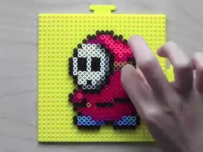 Mario Shy Guy Perler Bead Sprite