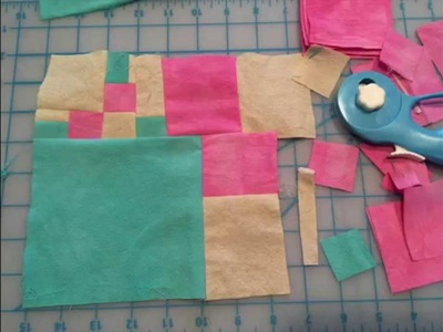 My Improv Quilt Story: How making a quilt helped me cope with the loss of my newspaper column