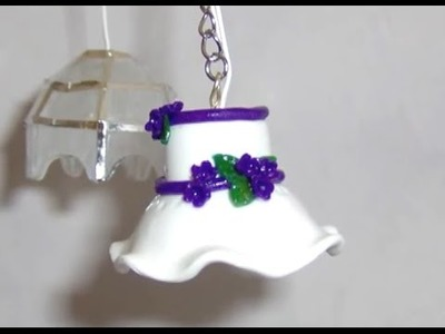 Polymer Clay Miniature -  Lamp