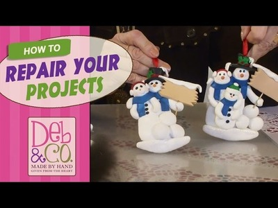 Polymer Clay Tutorial - How to Repair Your Projects