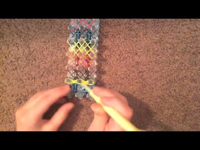Rainbow Loom Double XX Bracelet