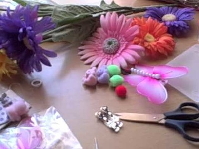 Really Cute Hair Bows and Accessories Tutorial