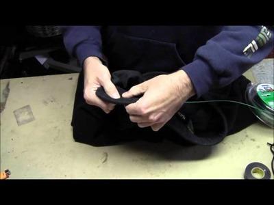 RicksDIY How To Restring A Hoodie Hooded Sweatshirt Or Stretch Pants