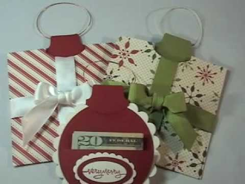 Seasonal Saturdays - Ornament Money Holder
