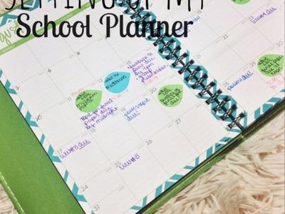 Setting Up My School Planner