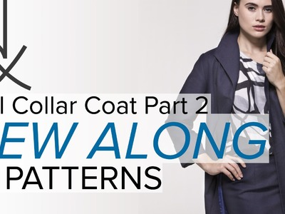 Sewing a Coat, A Sew Along. Part 2, The Materials
