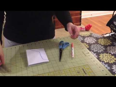 Sewing Cloth Pads 101 - How To Make a Basic Symmetrical Pad Pattern