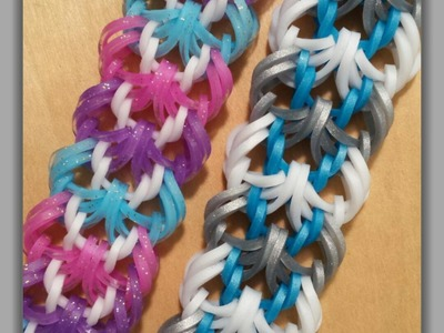 """""""Spanish Lacework"""" Hook Only Bracelet.How To Tutorial"""