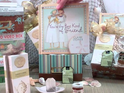 The Best Kind of Friend Tea Gift Basket